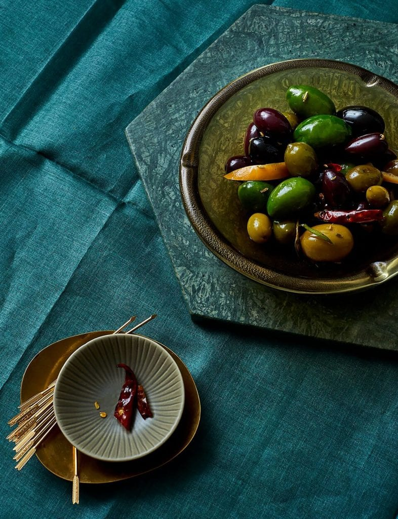 Warm Spicy Olives Gluten-Free Recipe