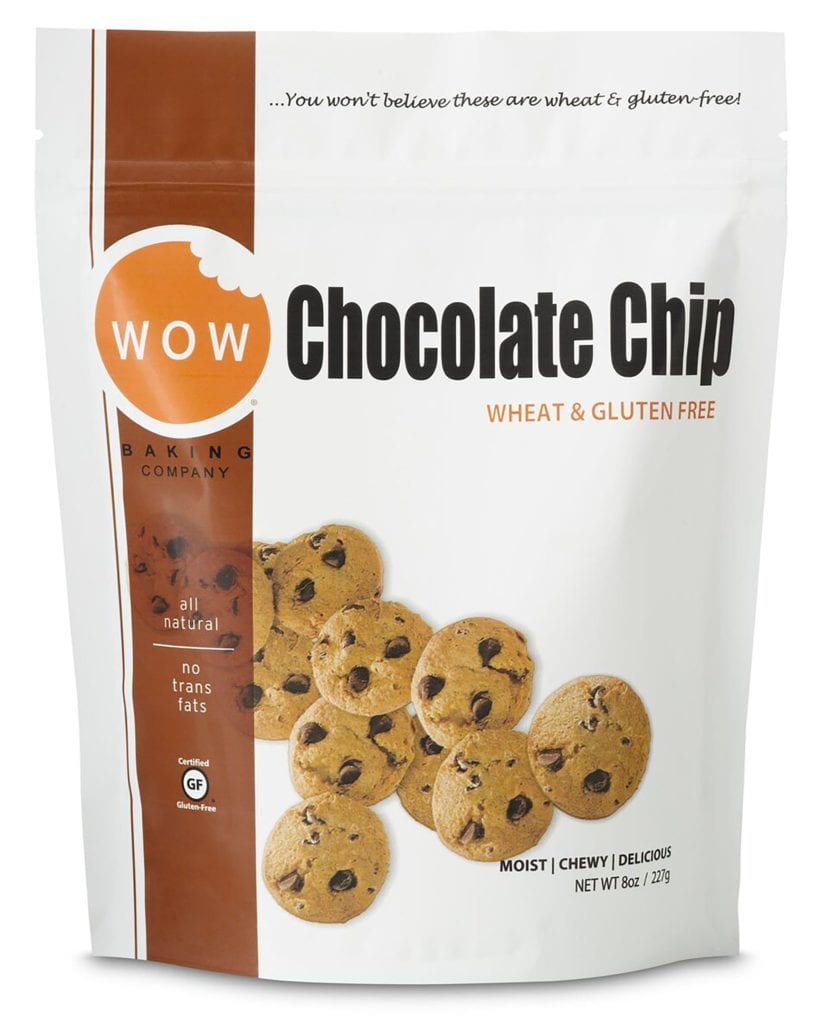 Product Review: Wow Baking Company Chocolate Chip Wheat & Gluten Free Cookies