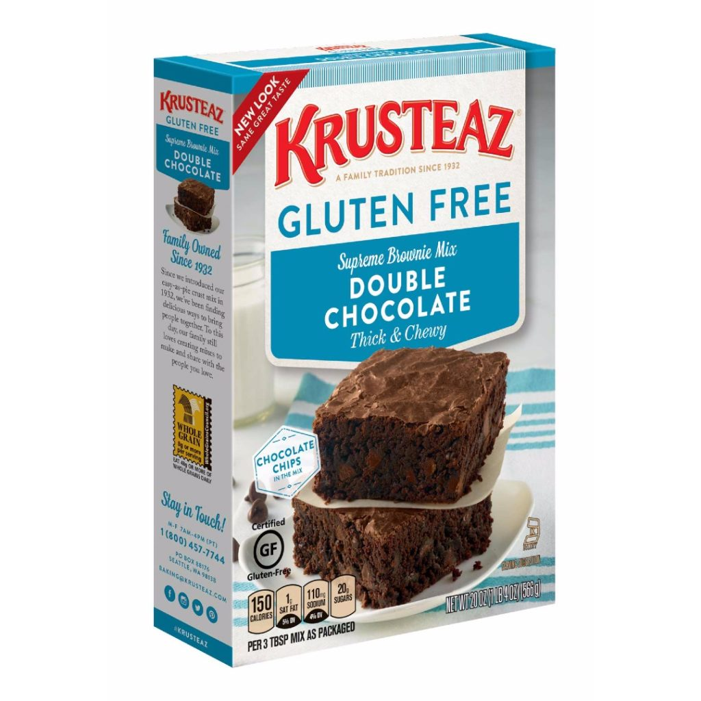 Krusteaz Gluten Free Double Chocolate Brownie Mix Product Review