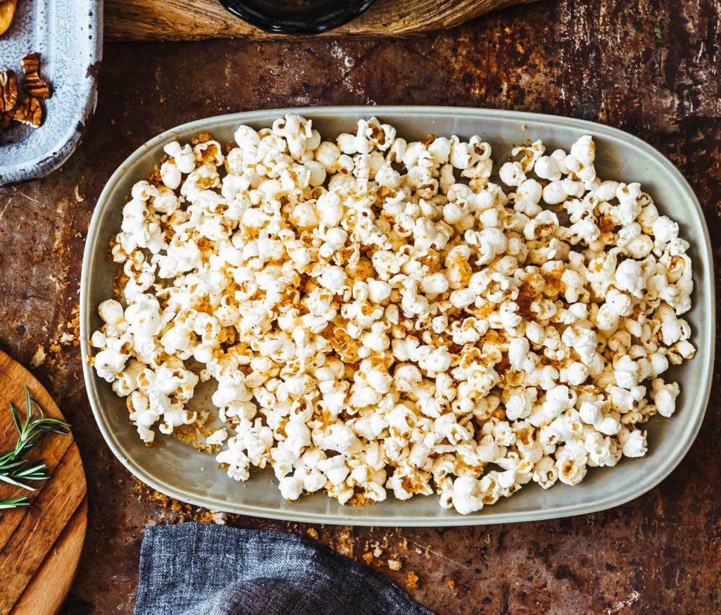 Smoky Manchego Popcorn