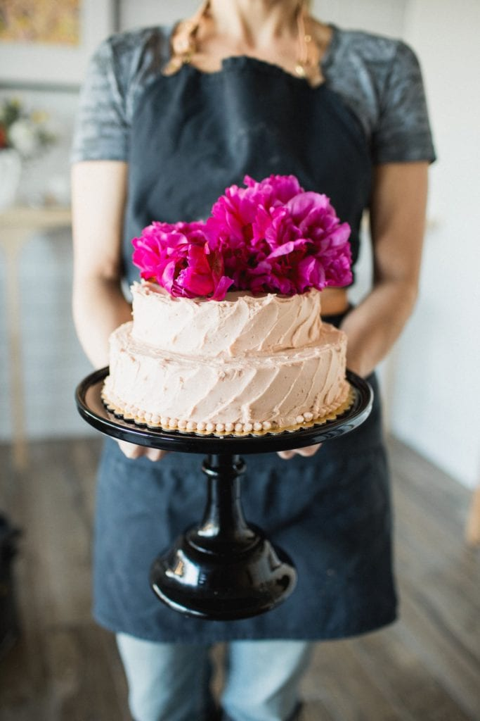 1-2-3-4 Cake with Classic Buttercream Frosting Gluten-Free Recipe