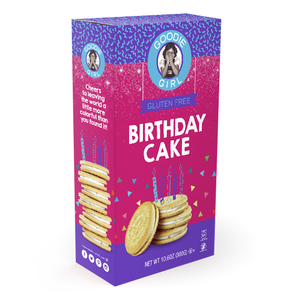 Product Review: Goodie Girl Birthday Cake Cookies