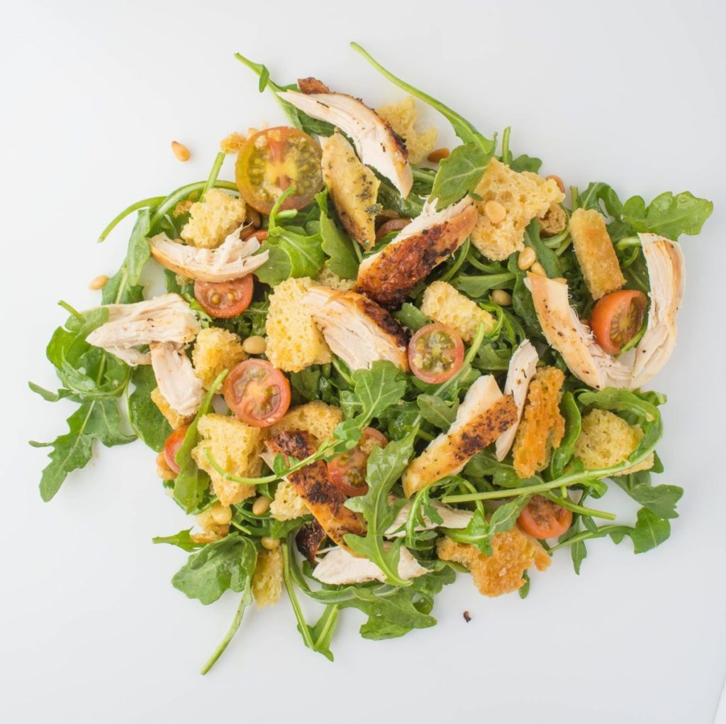 Gluten-Free Chicken Panzanella Recipe
