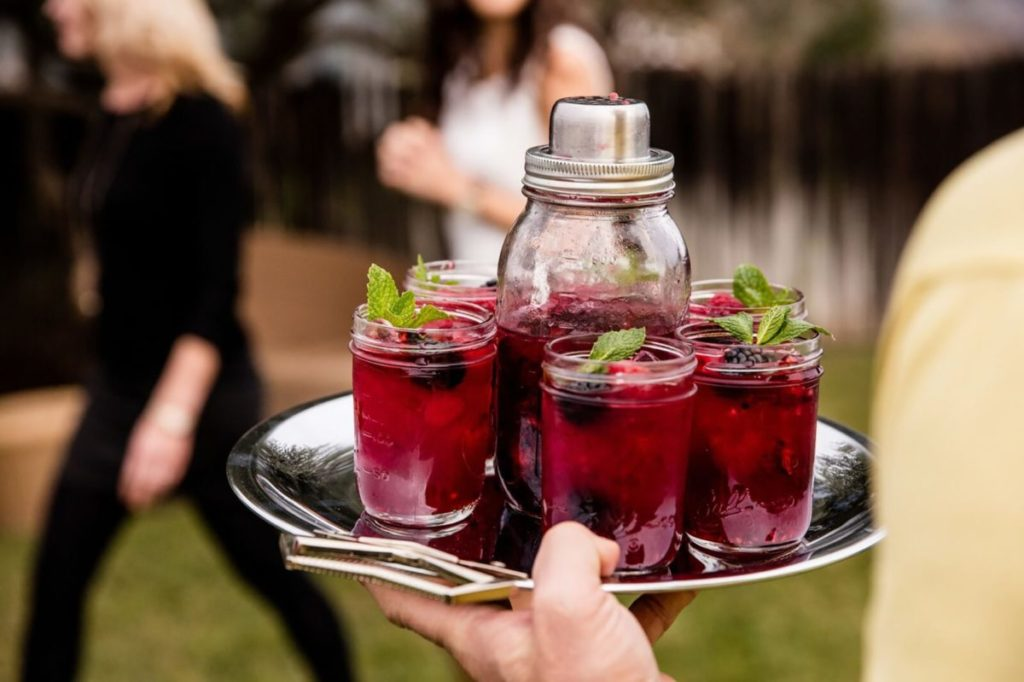 Farmer Chiarello: Bourbon, Blackberry, and Tea Cocktail Recipe