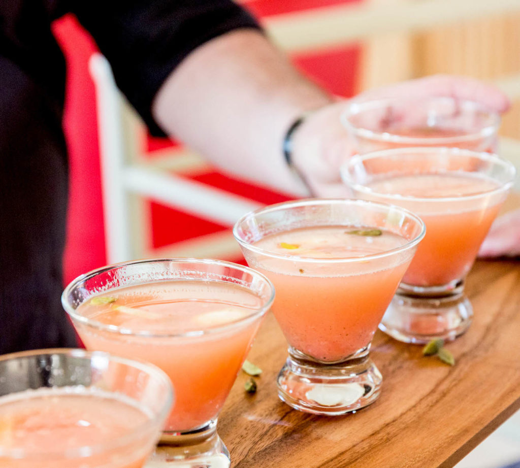 Cardamom-Spiked Pink Panther
