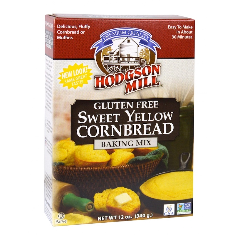 Product Review: Hodgson Mill Gluten Free Sweet Yellow Cornbread Baking Mix
