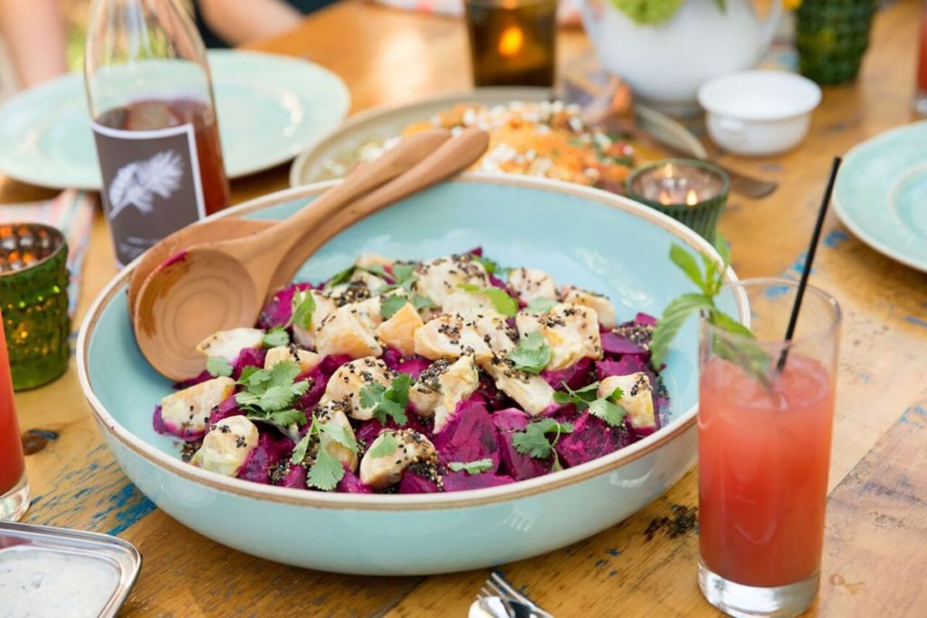 Roasted Beets with Coconut Milk, Curry Leaves, and Indian Spices Gluten-Free Recipe