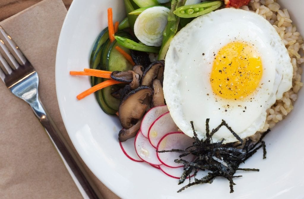 Gluten-Free Vegetable Bibimbap Recipe