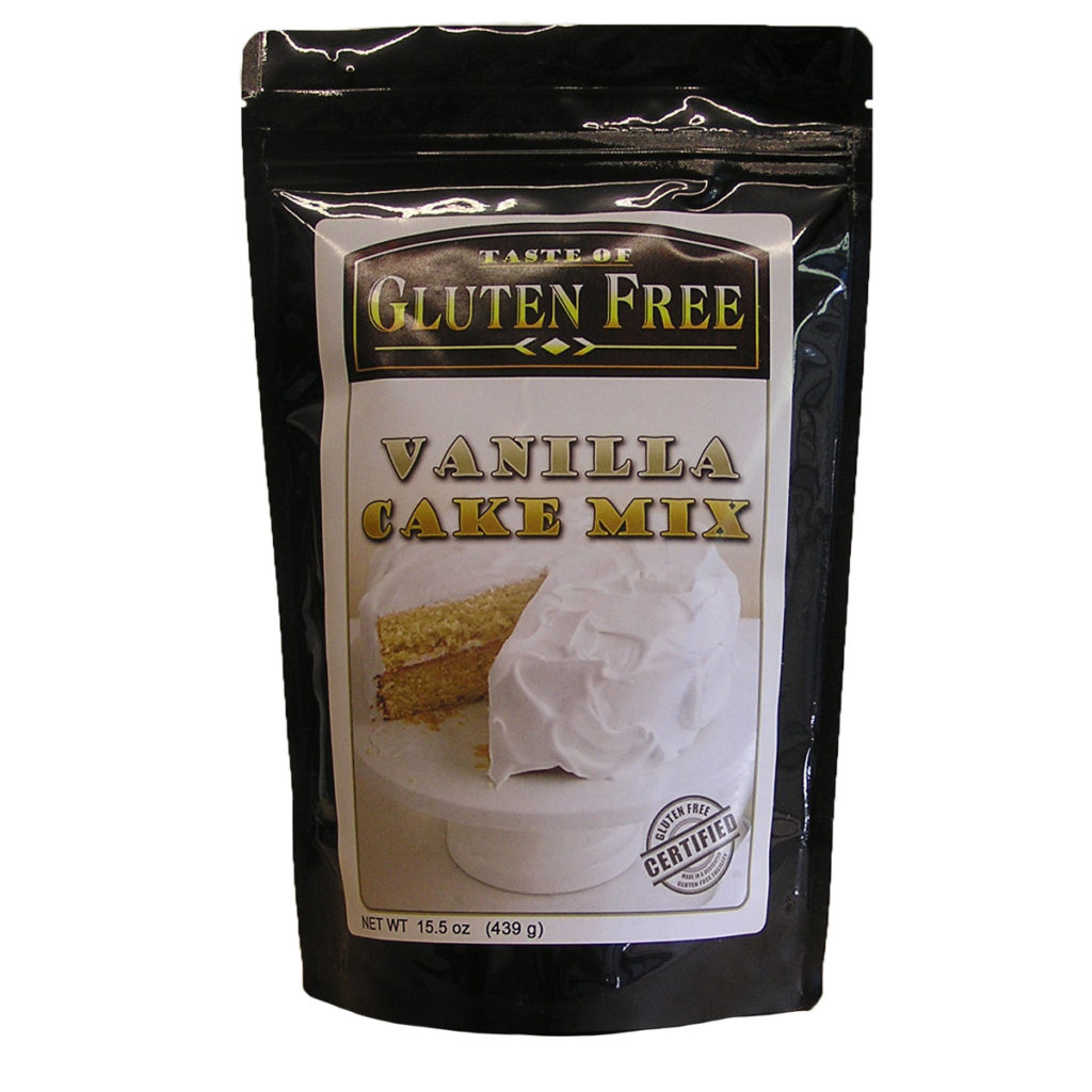 Product Review: Taste of Gluten Free Vanilla Cake Mix