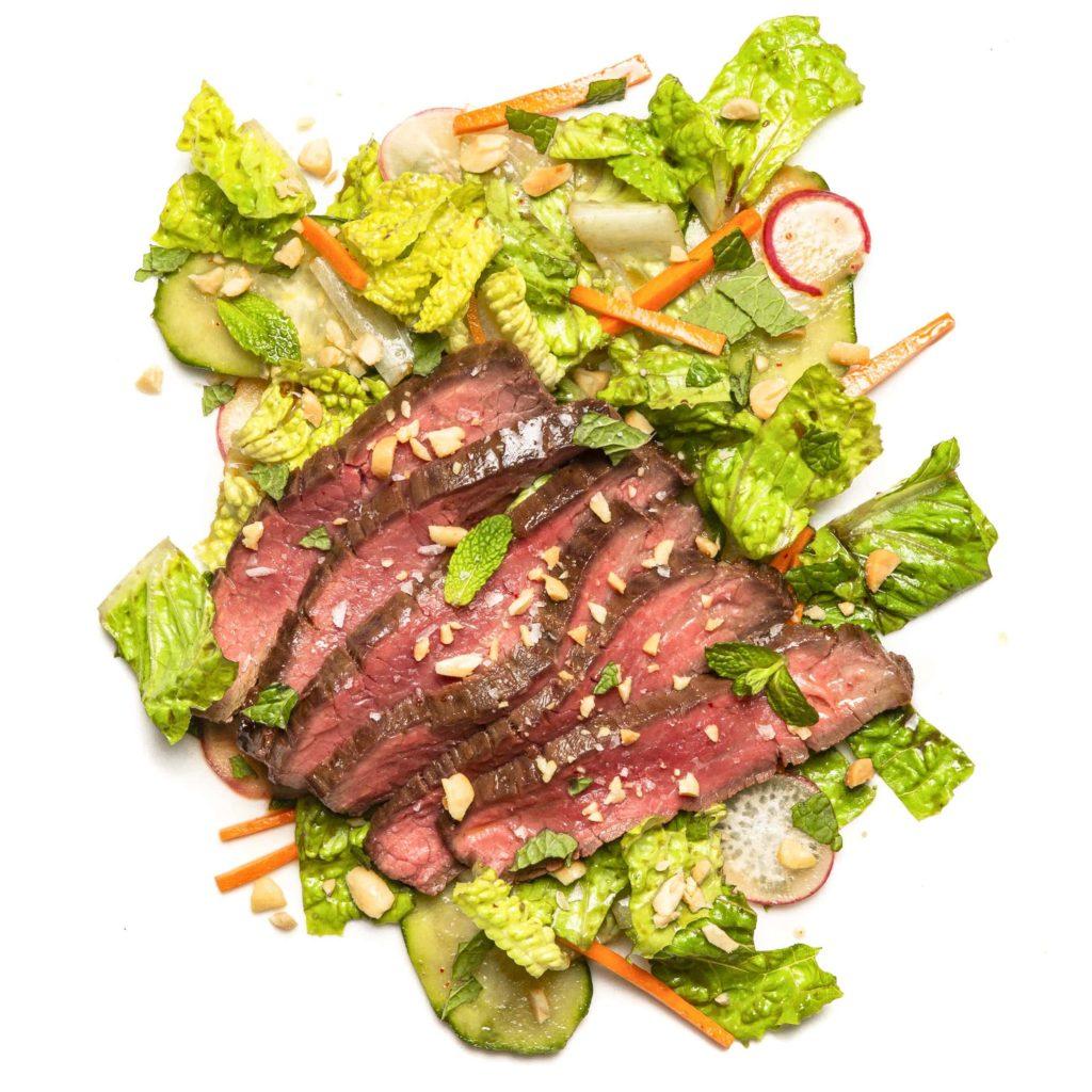 Vietnamese Steak Salad Gluten-Free Recipe