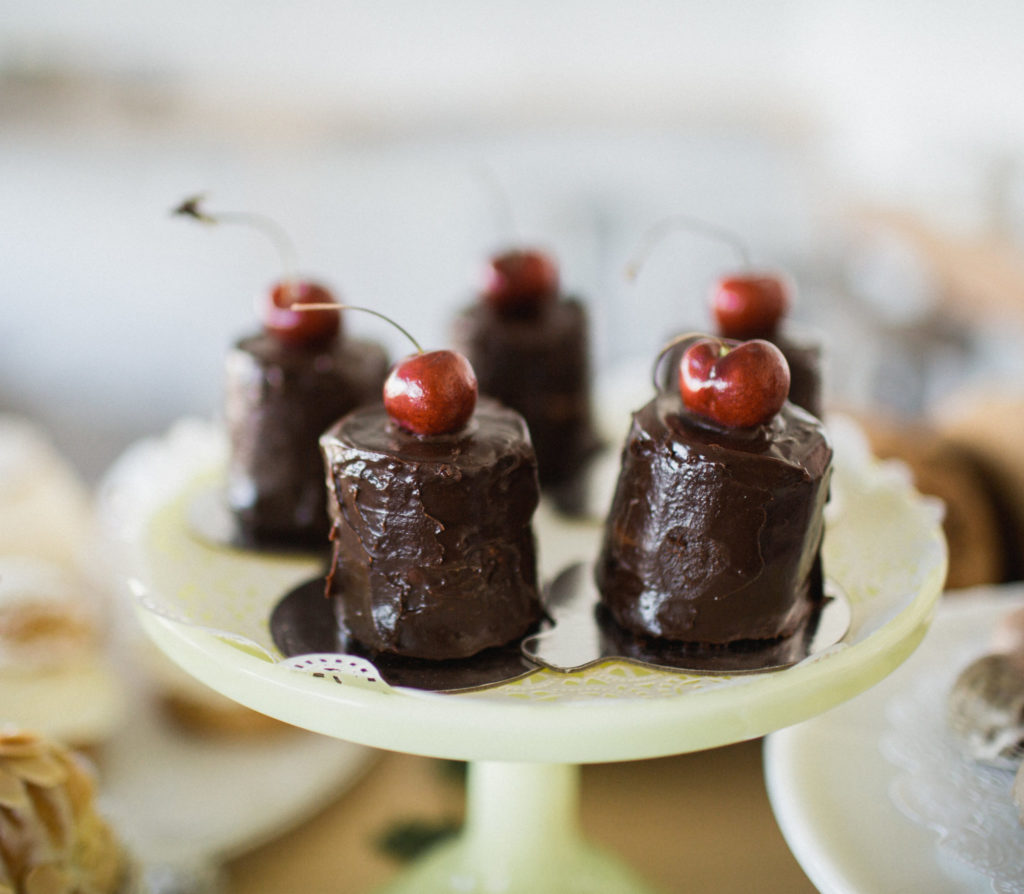 Chocolate Cherry Cakes Gluten-Free Recipe