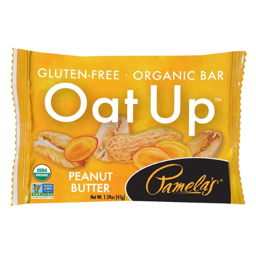 Product Review: Pamela's Oat Up Organic Peanut Butter Bar