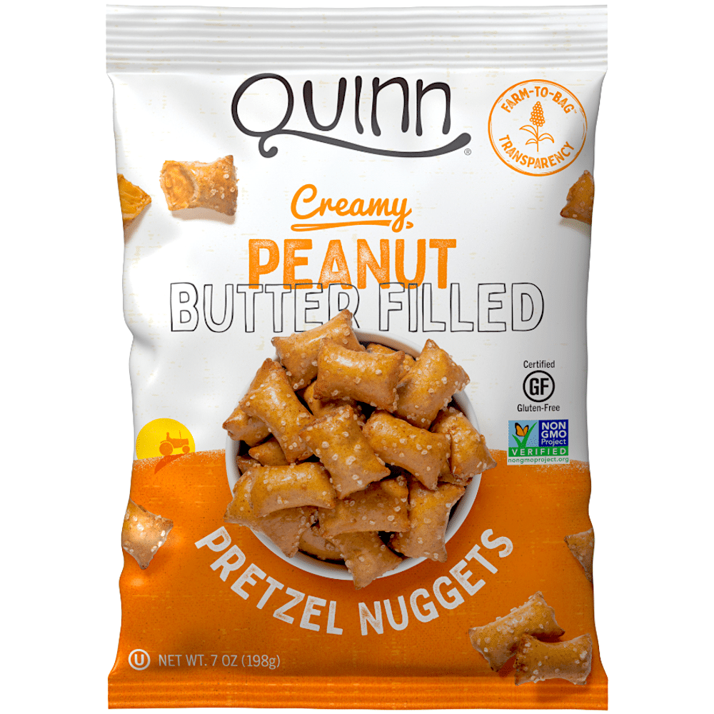 Quinn Creamy Peanut Butter Filled Nuggets