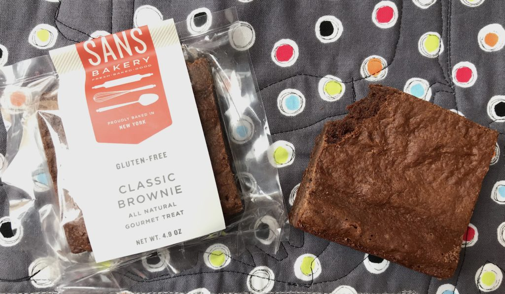 Sans Bakery Gluten Free Classic Brownies