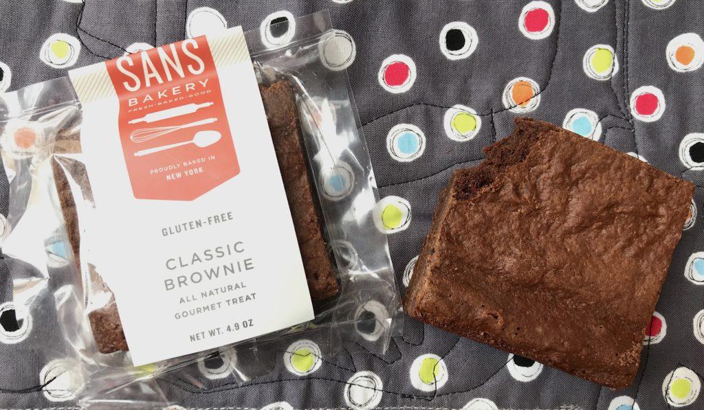 Sans Bakery Gluten Free Classic Brownies