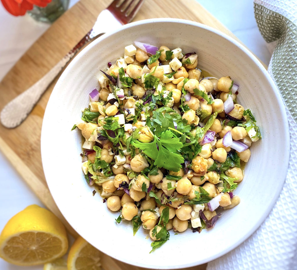 Gluten-Free Chickpea Tabouleh Salad