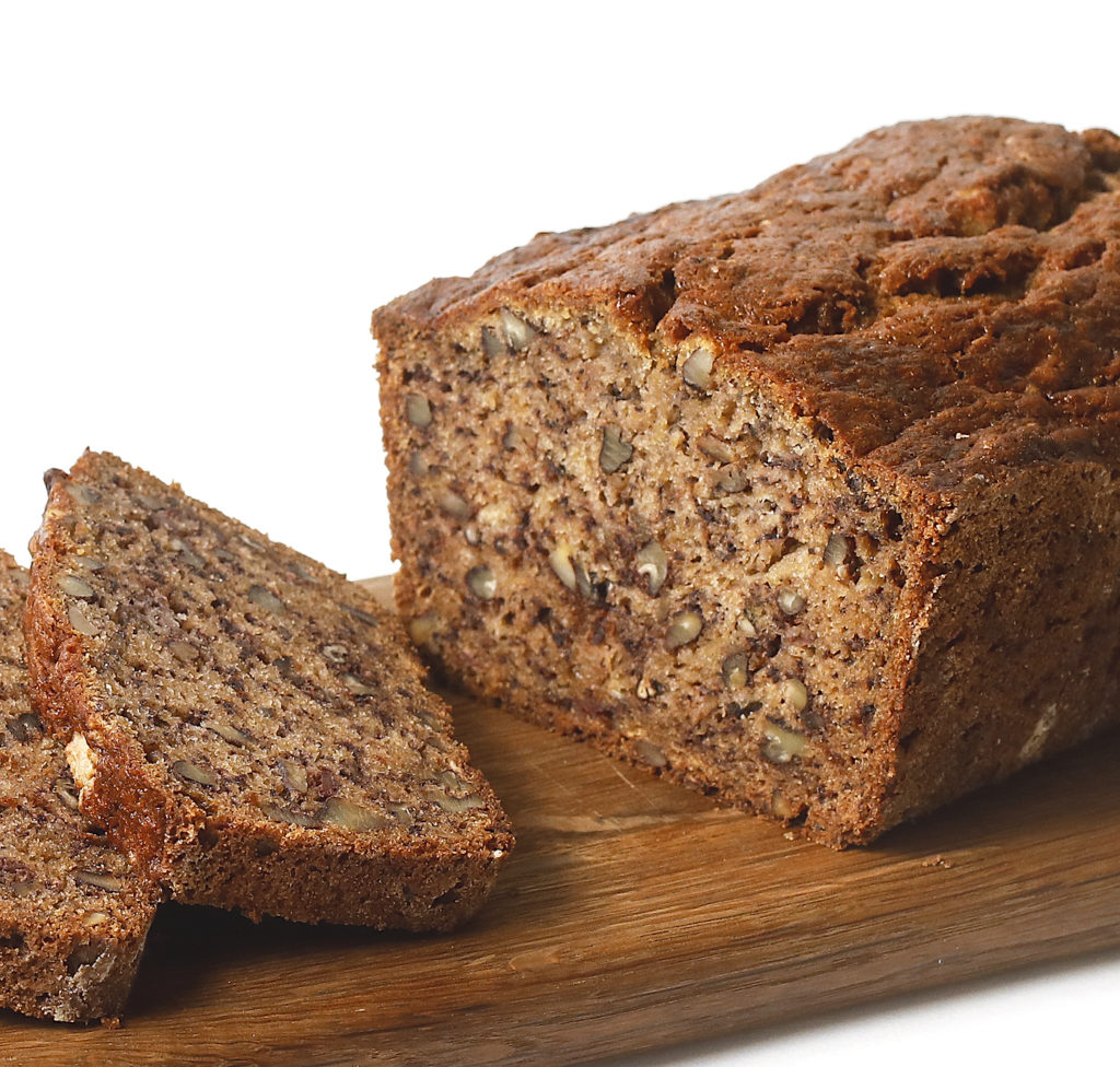 Gluten-Free Banana Bread with Pecans