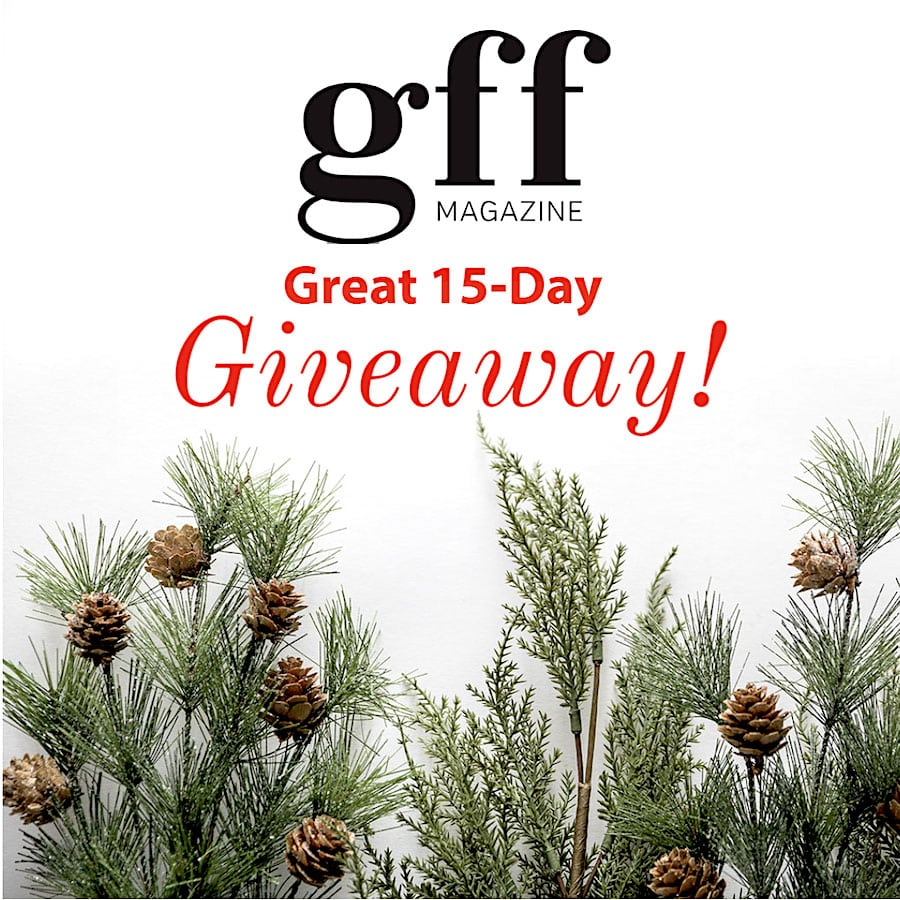 GFF Magazine's Great 15-Day Giveaway 2020