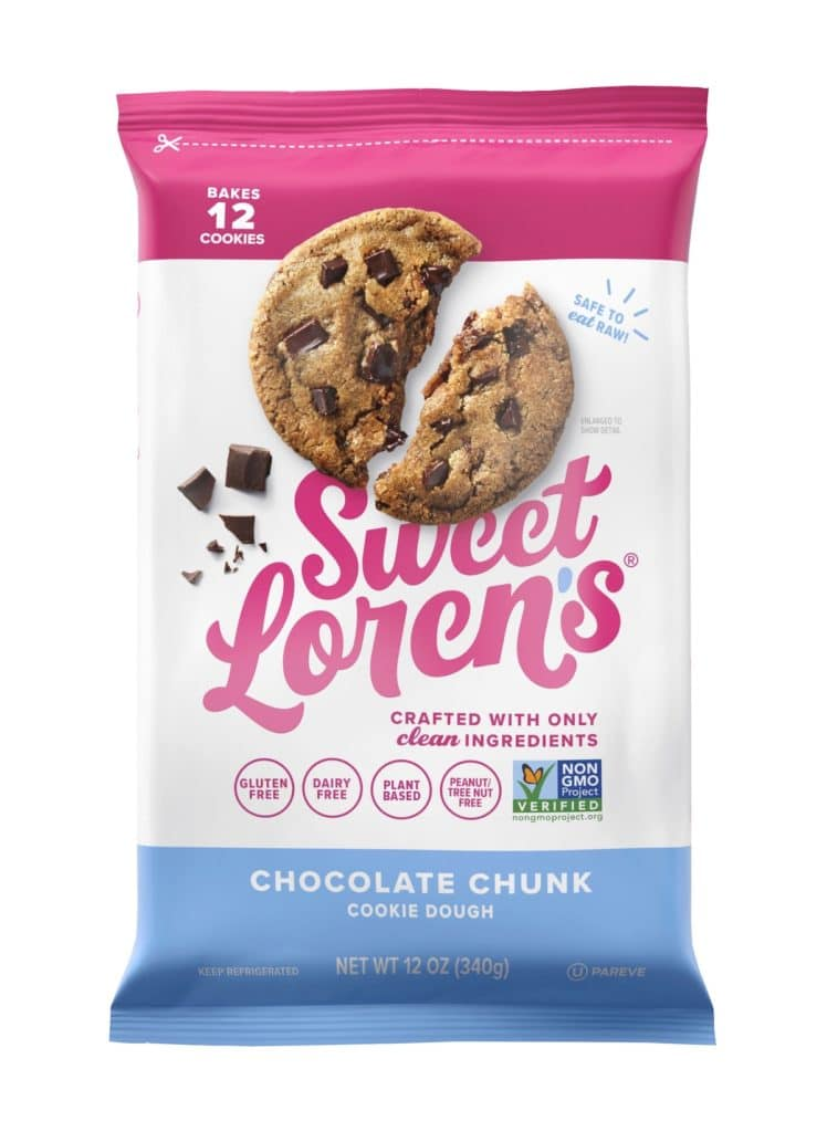 Product Review: Sweet Loren's Gluten Free Chocolate Chunk Cookie Dough