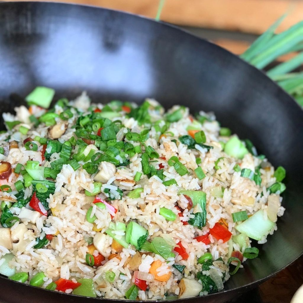 Gluten-Free Vegetable Fried Rice