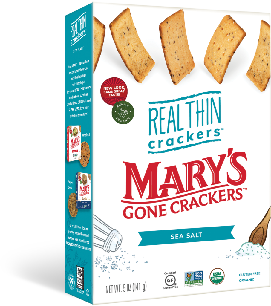 Product Review: Mary's Gone Crackers Sea Salt Real Thin Crackers