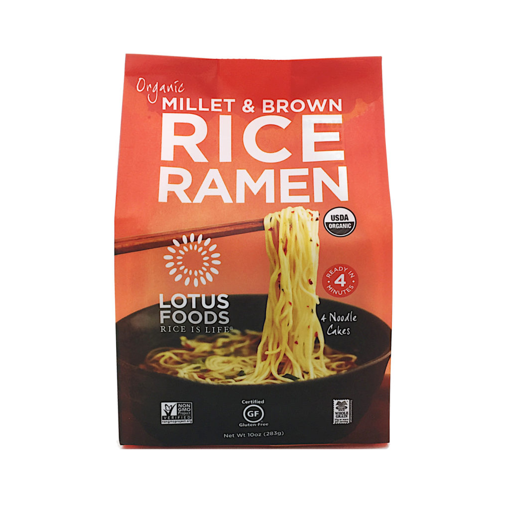 Product Review: Lotus Foods Organic Millet and Brown Rice Gluten-Free Ramen Noodles