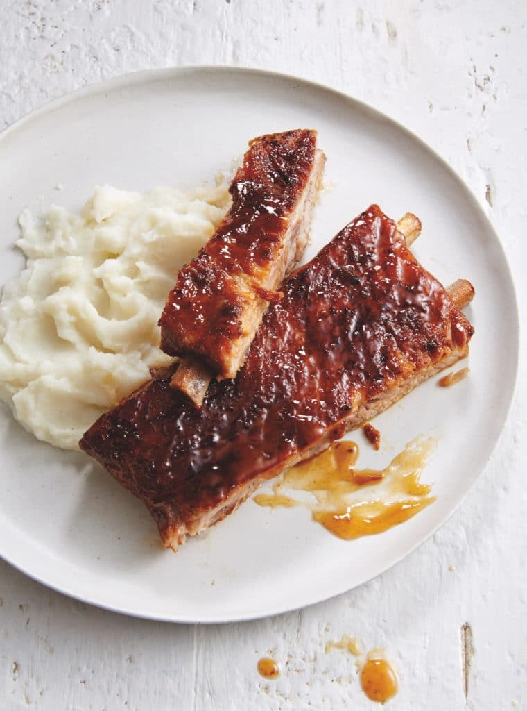 Braised and Glazed Gluten-Free Spare Ribs